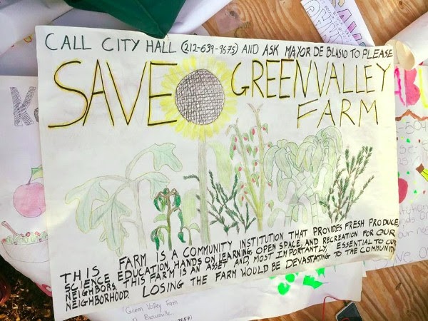 Save Green Valley Farm poster