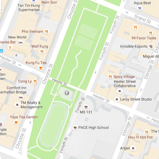 Google Map of Sara D. Roosevelt Park