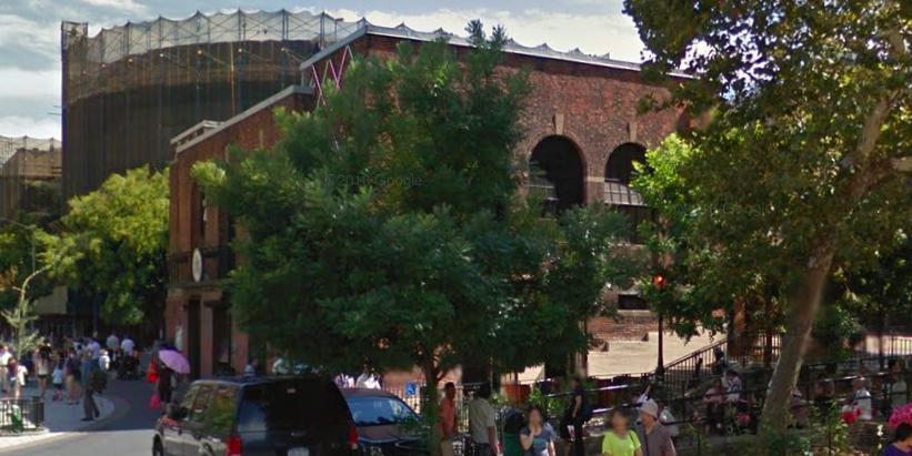 Google Street View of Sara D. Roosevelt Park
