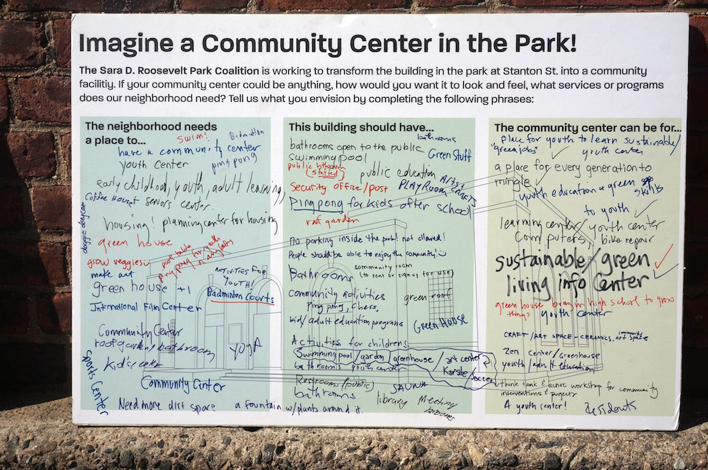 Imagine a Community Center in the Park!