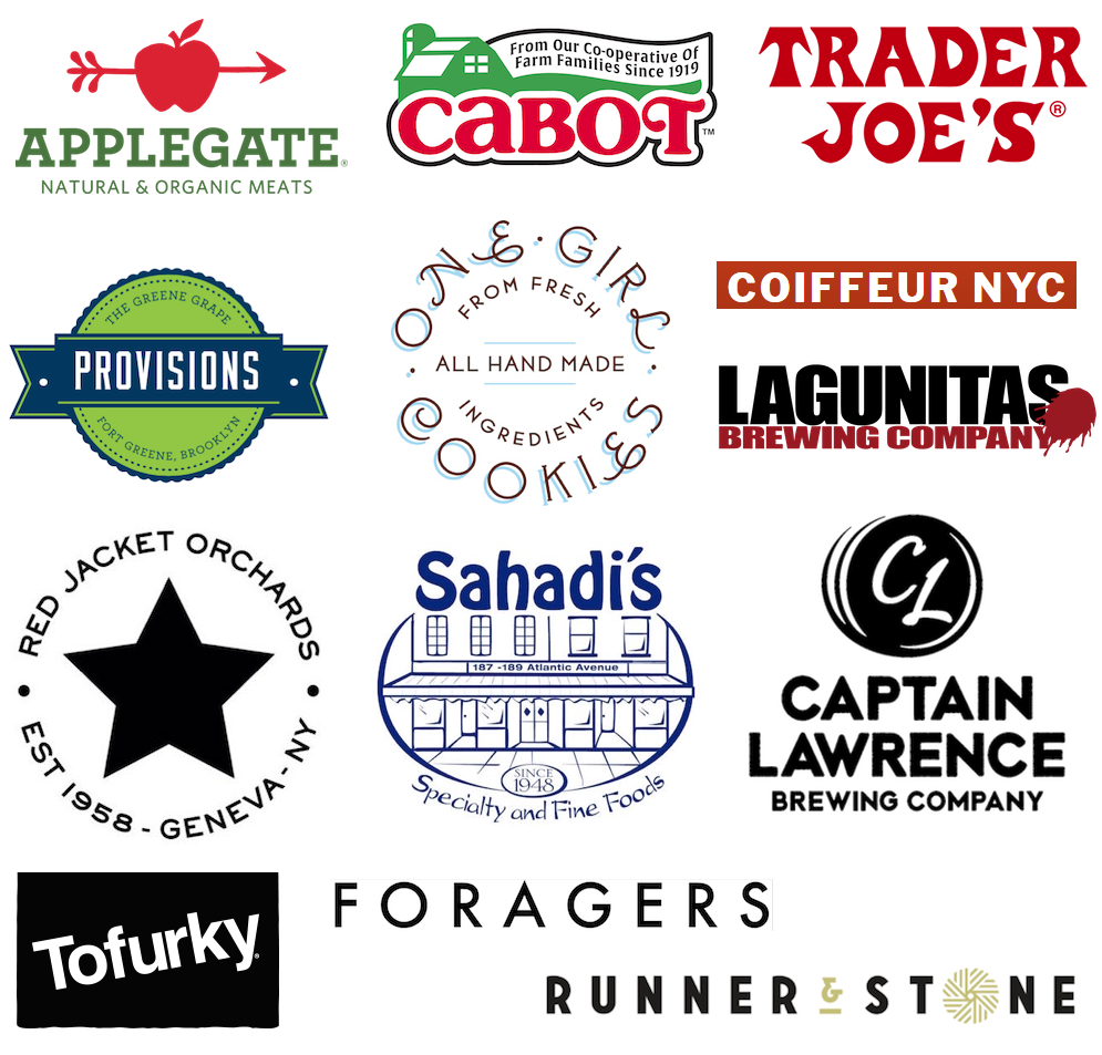 Event sponsor logos