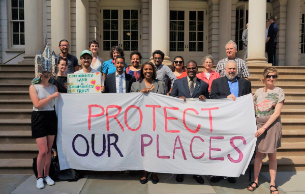 At our rally last week, Council Member Antonio Reynoso introduced new legislation that will exempt nonprofits going forward