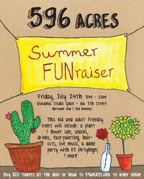 flyer for Summer FUNraiser