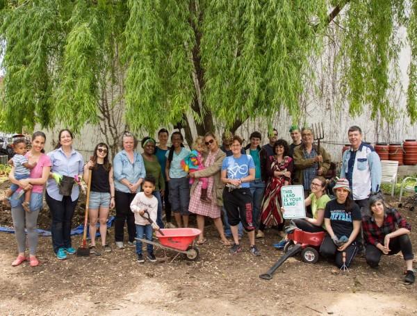 Maple Street Community Garden crew